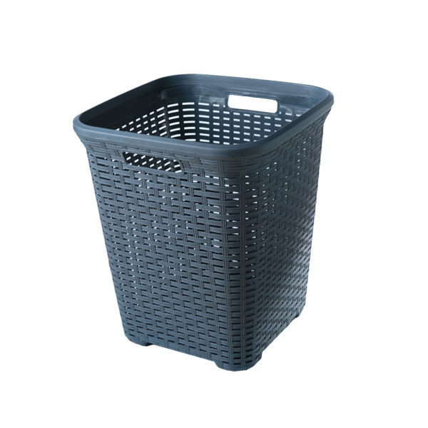 LAUNDRY BASKET BN WEAVE TALL